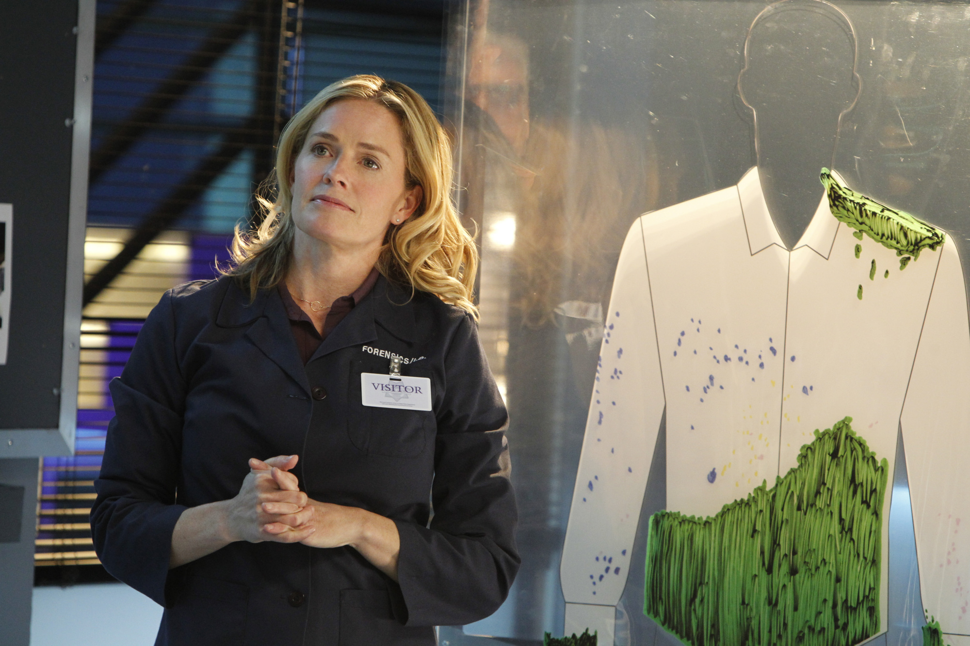 Elisabeth Shue appears on CSI beginning February 15!