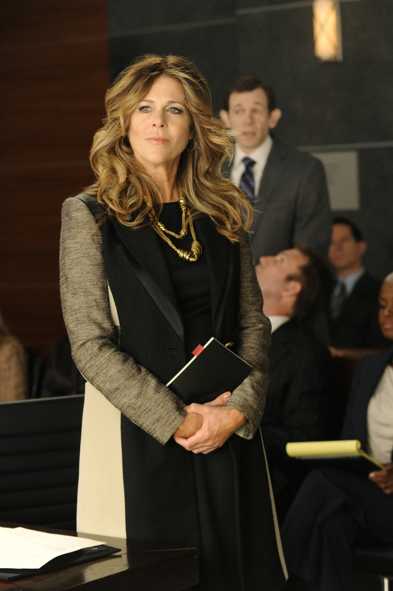 Returning Guest Star Rita Wilson
