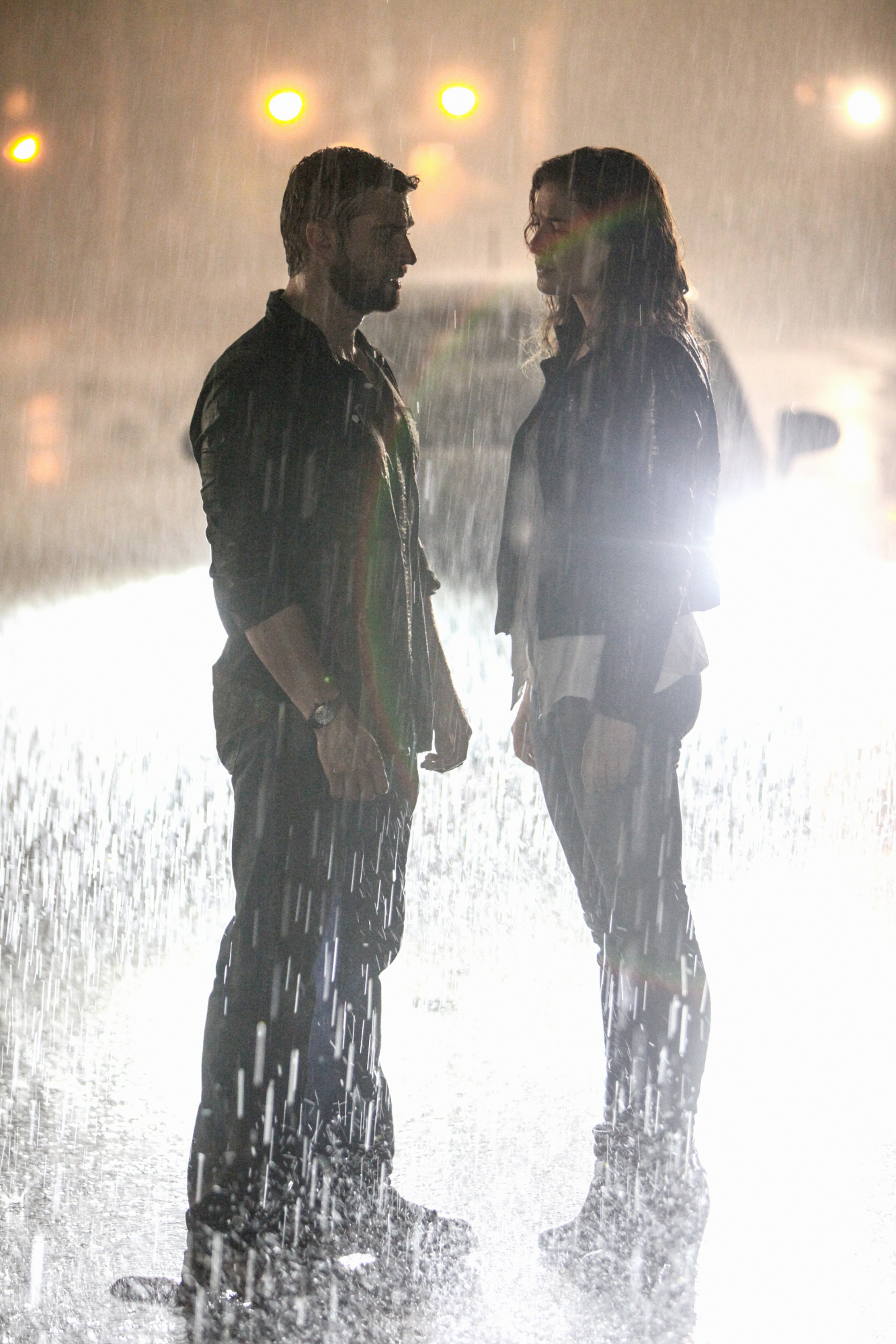 5. When they found each other in the rain