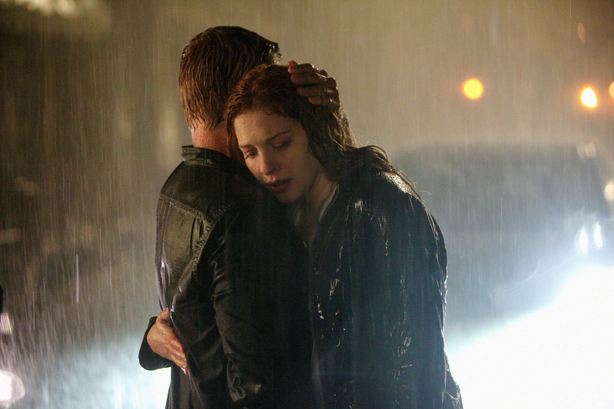 7. And hugged in the rain