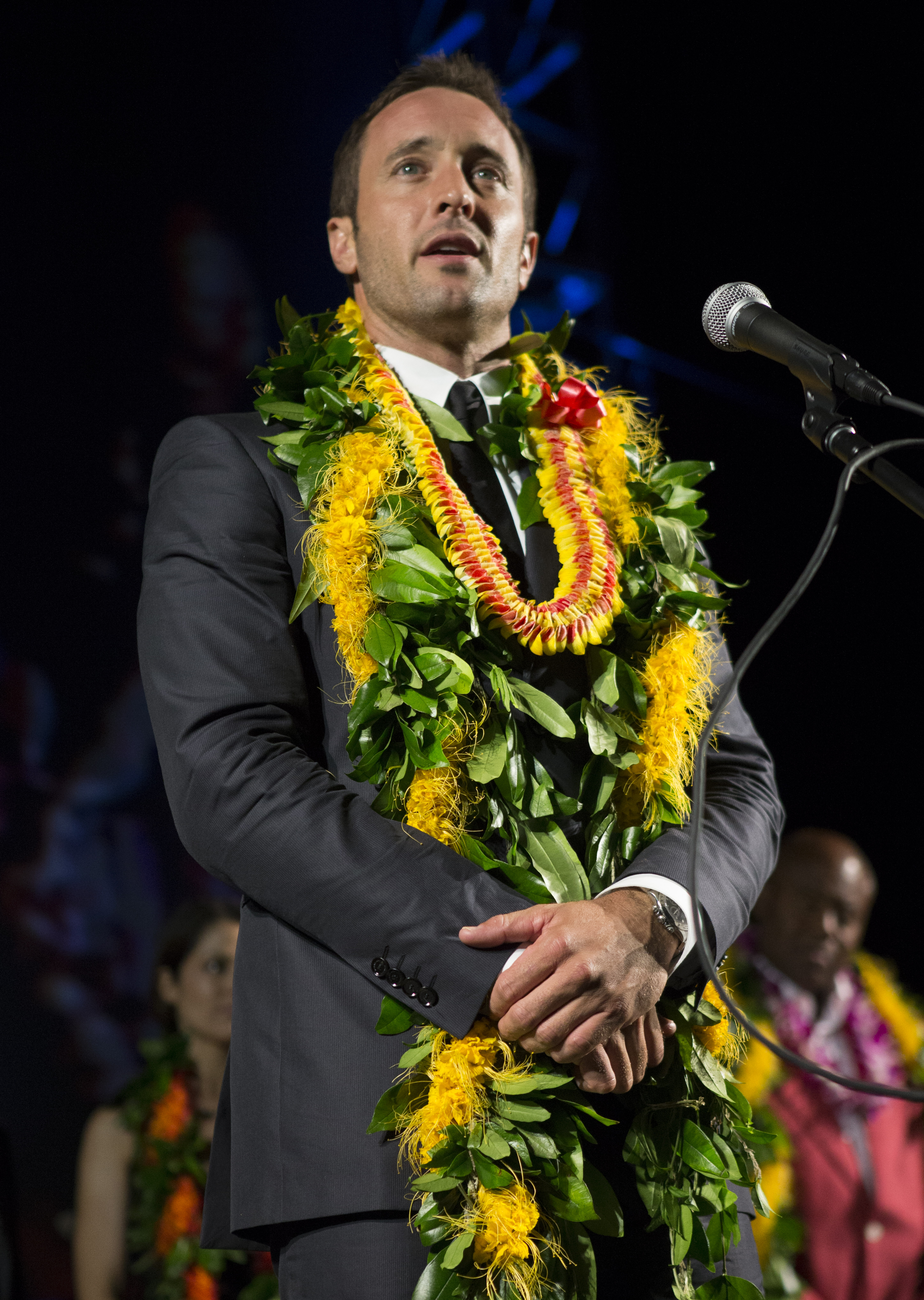Hawaii Five-0 Sunset on the Beach - Alex O'Loughlin