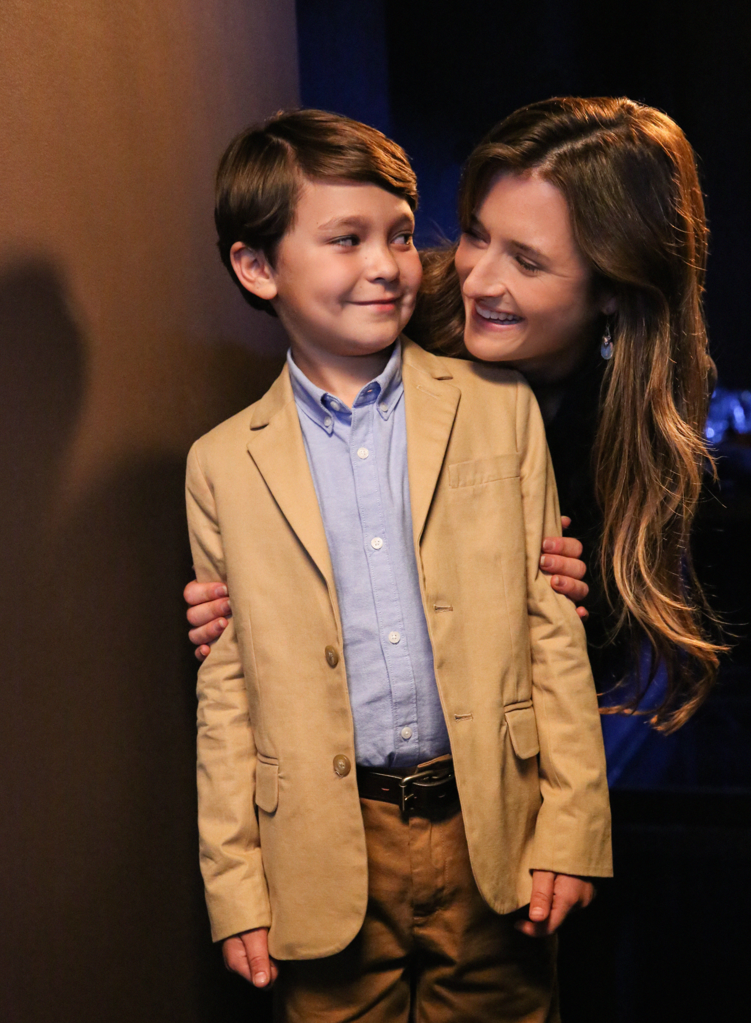 Grace Gummer and Pierce Gagnon in Extant - First Look