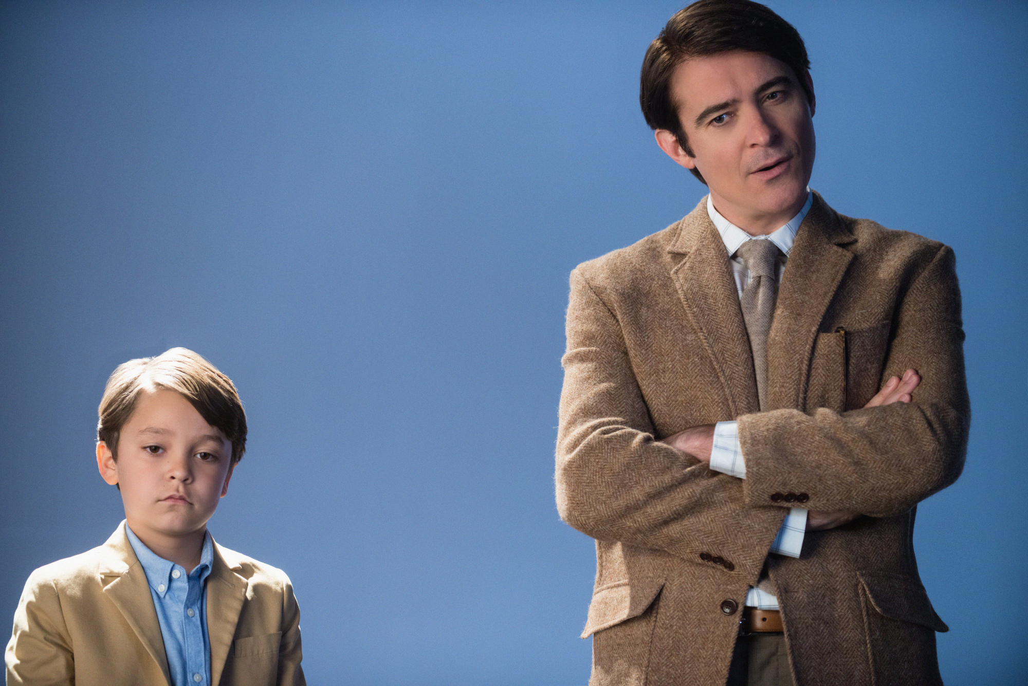 Goran Visnjic and Pierce Gagnon in Extant - First Look