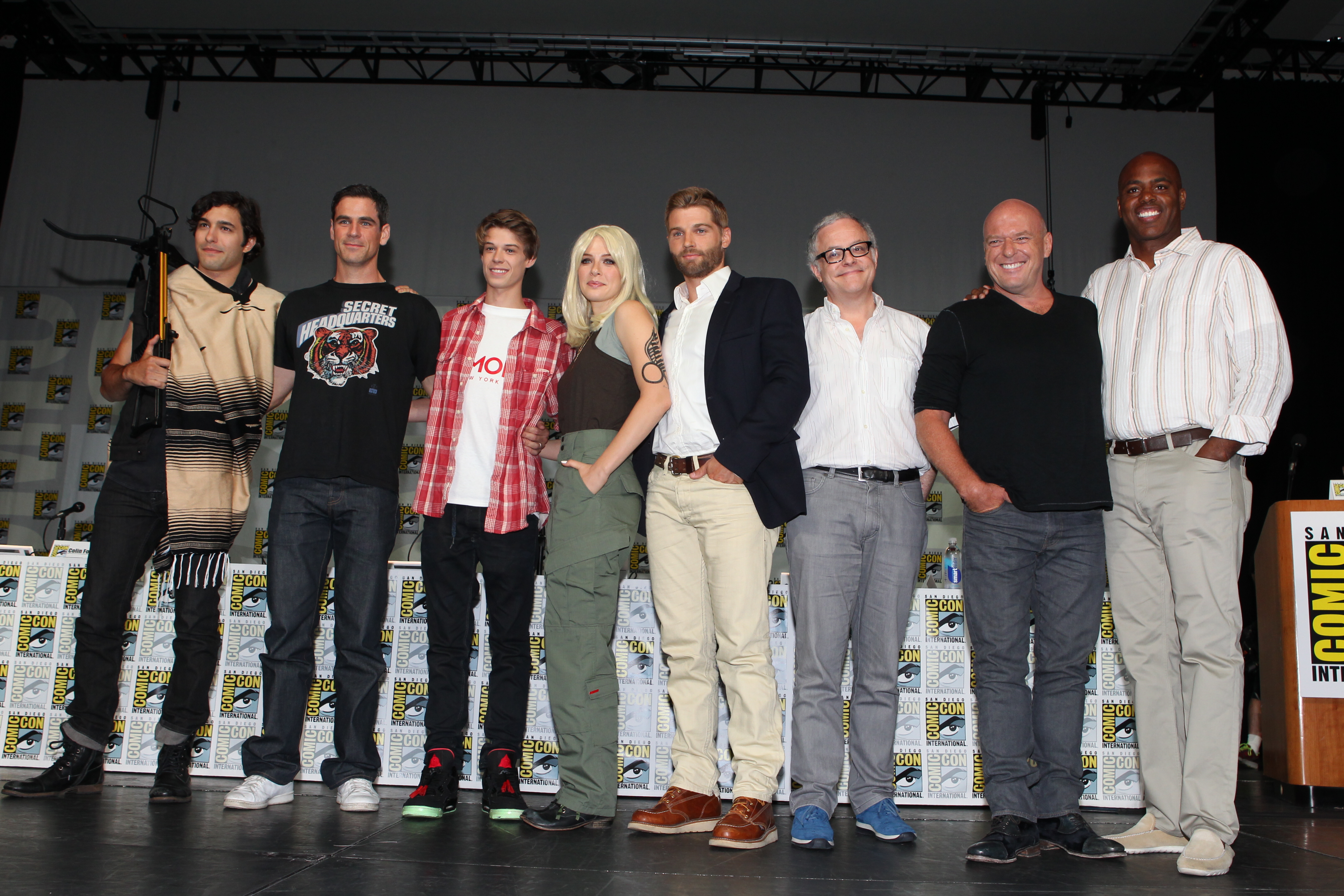 Under The Dome Comic-Con Panel