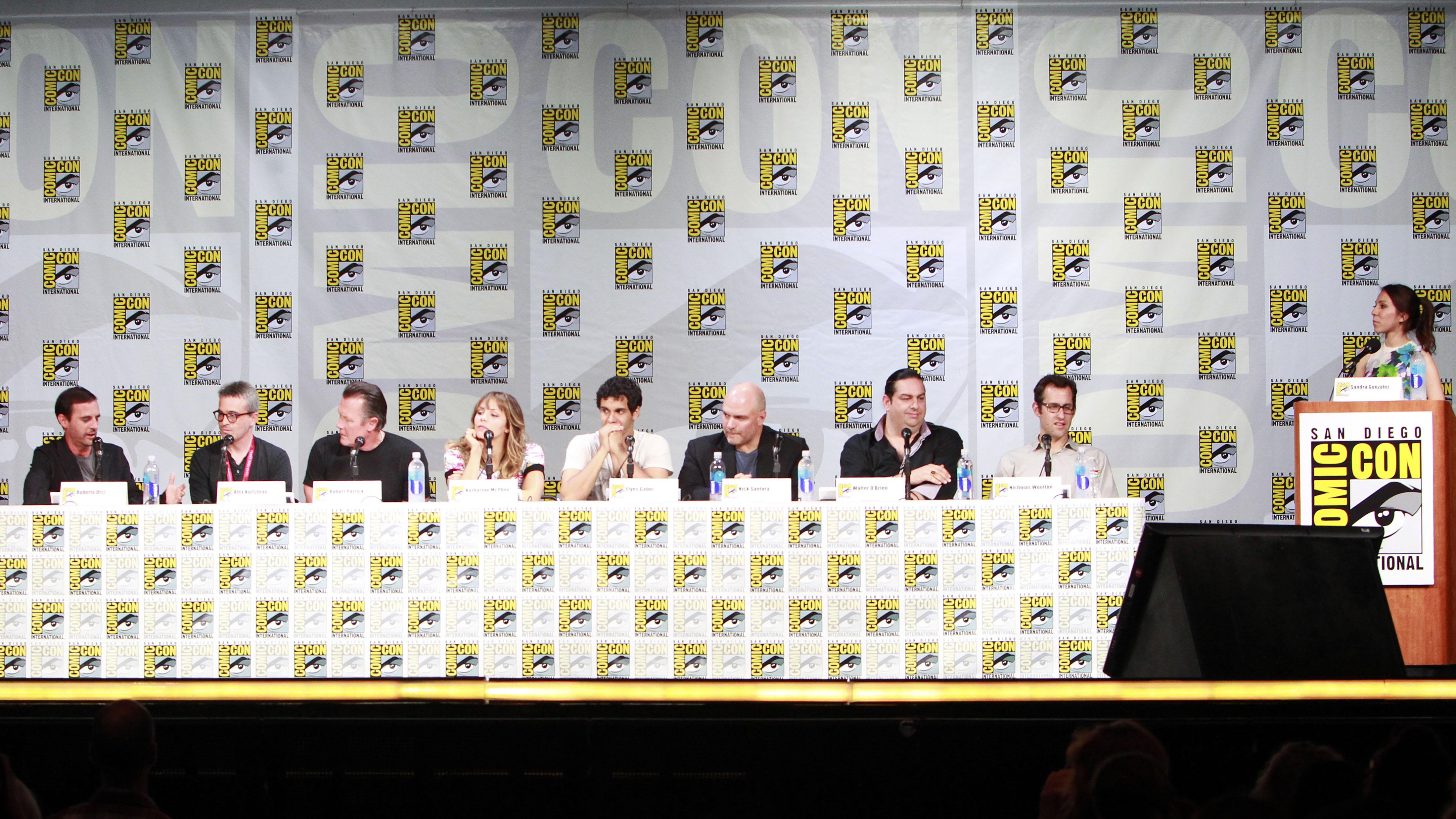 The Scorpion Comic-Con Panel