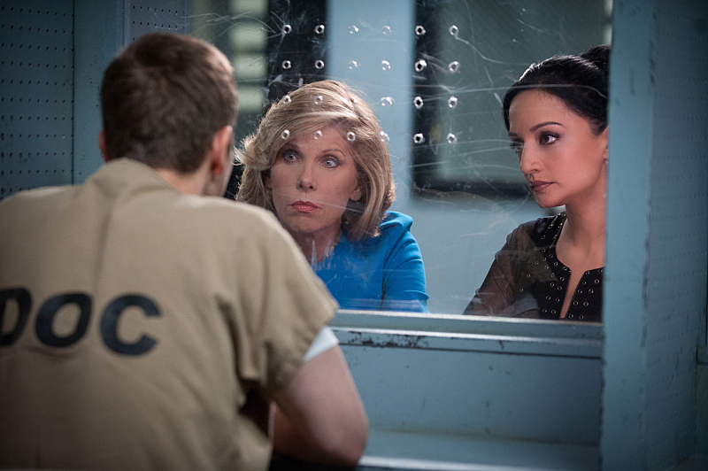 Diane and Kalinda meet with Cary in