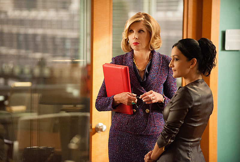 Diane looks for partners to bring with her to Florrick/Agos in