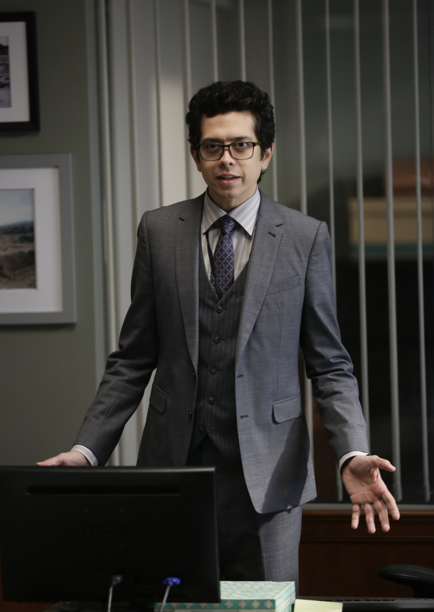 """28. Geoffrey Arend's voice can be heard in the animated series """"Daria."""""""