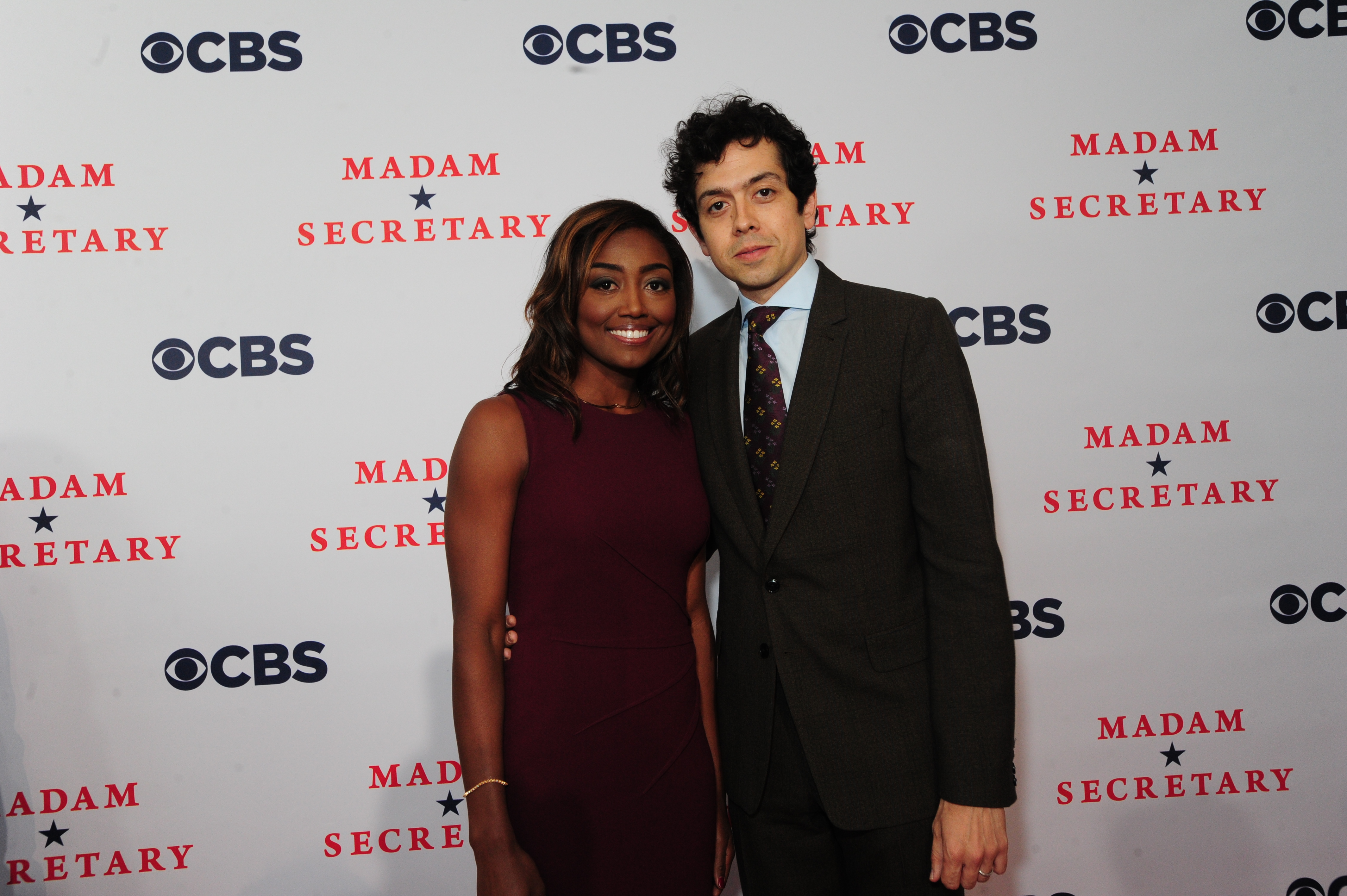 Patina Miller and Geoffrey Arend