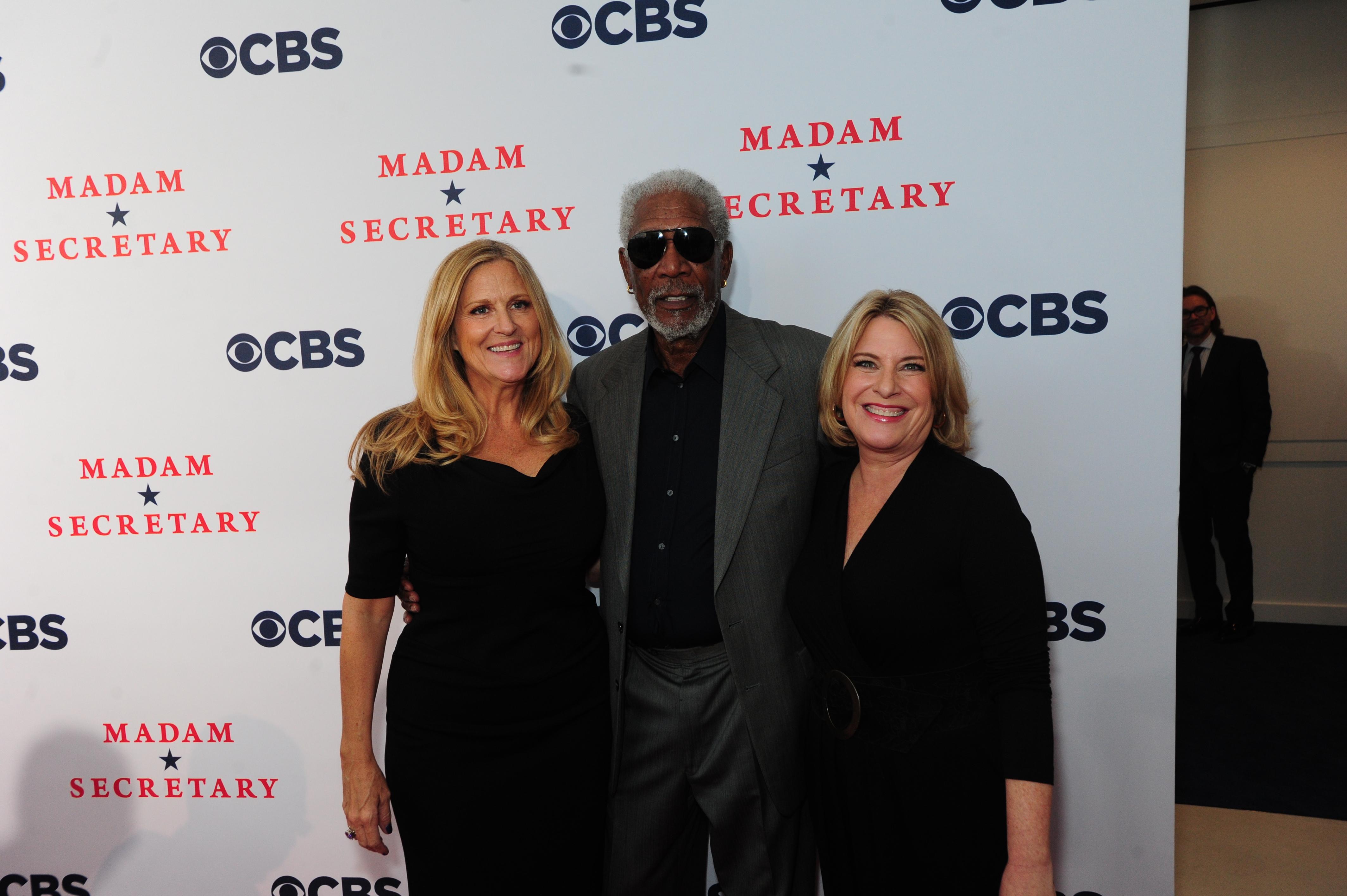 Executive Producers Lori McCreary, Morgan Freeman and Barbara Hall