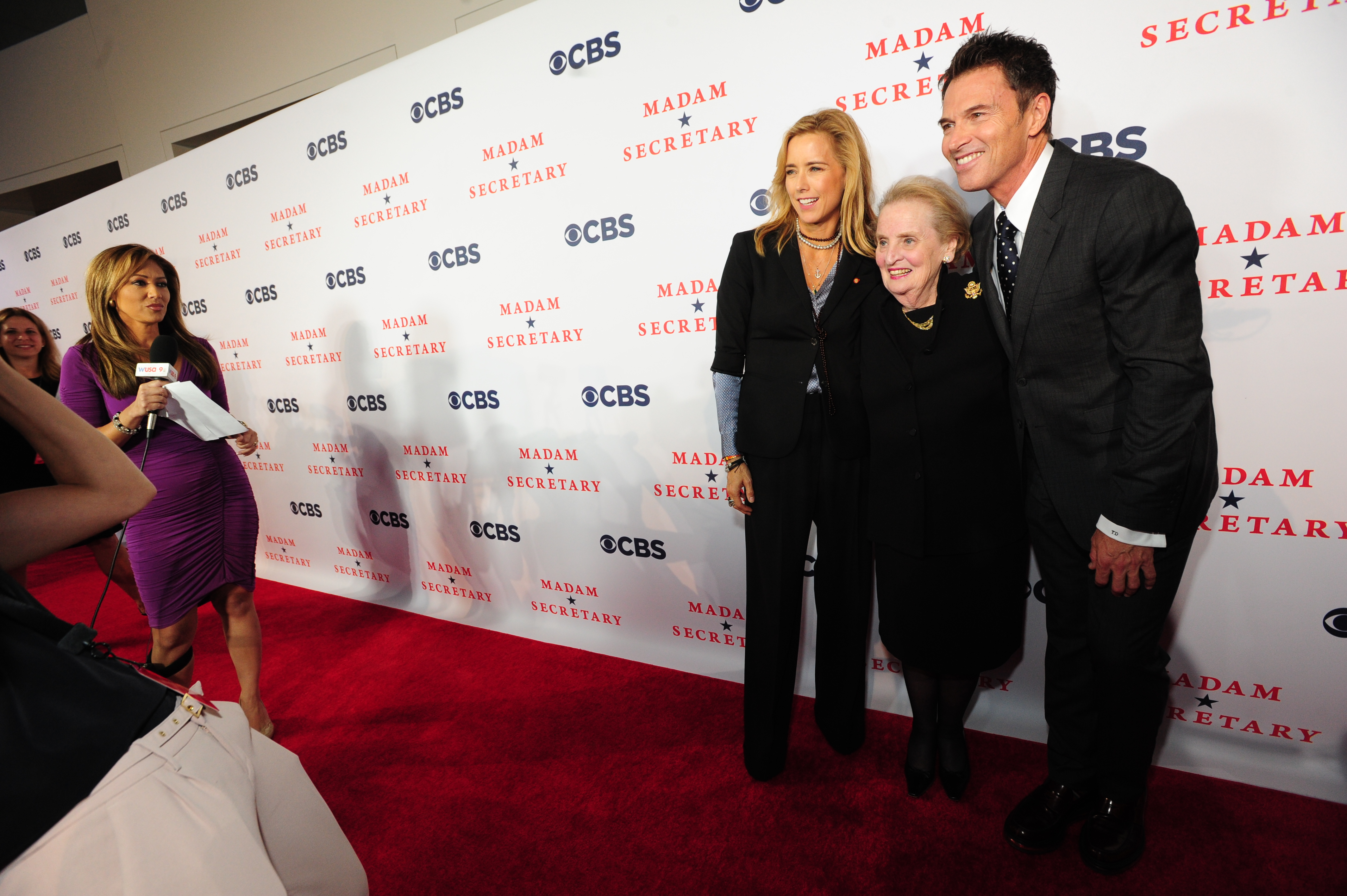 Red Carpet with Madeleine Albright