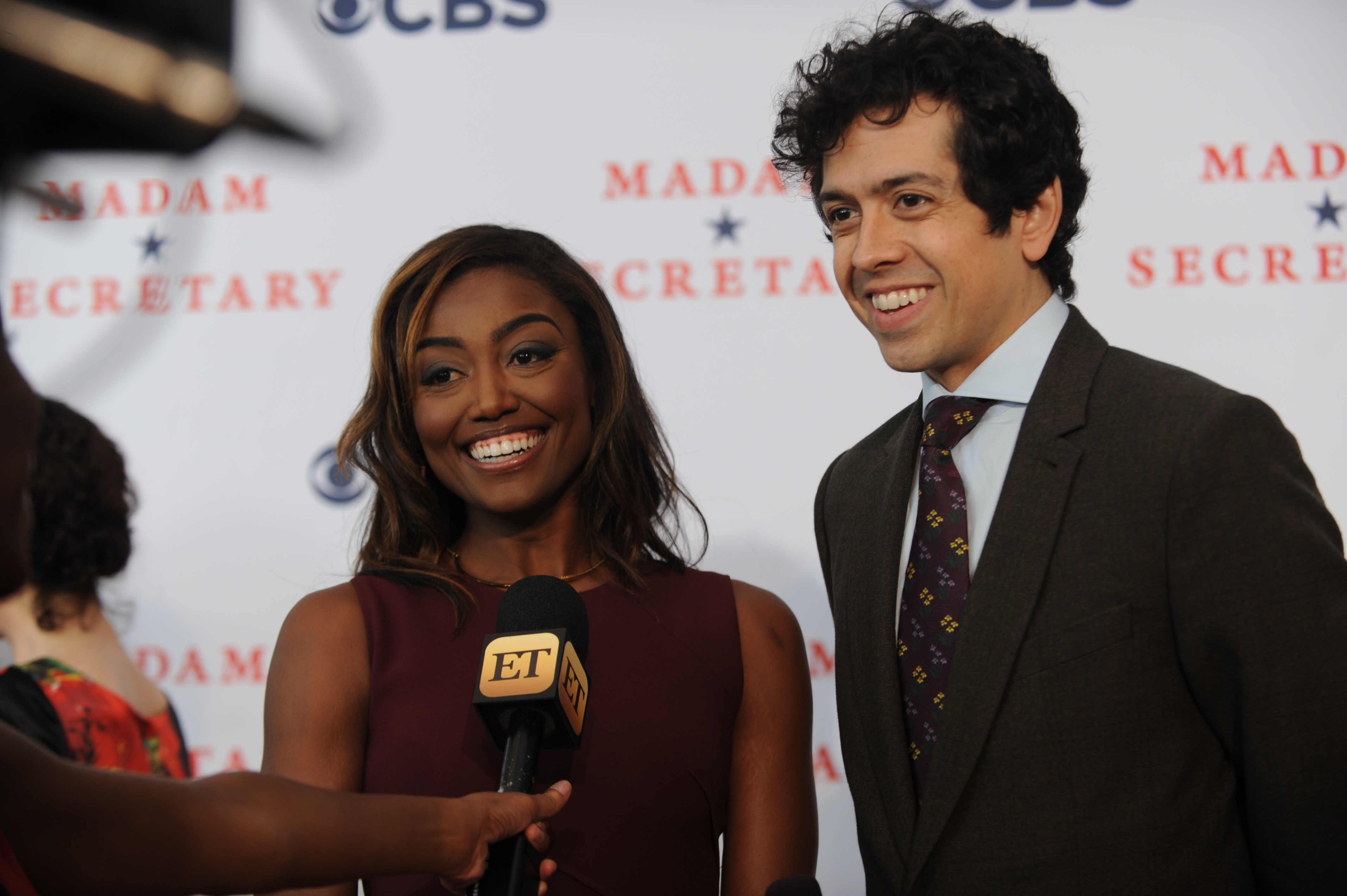 Patina Miller and Geoffrey Arend Talk to Press