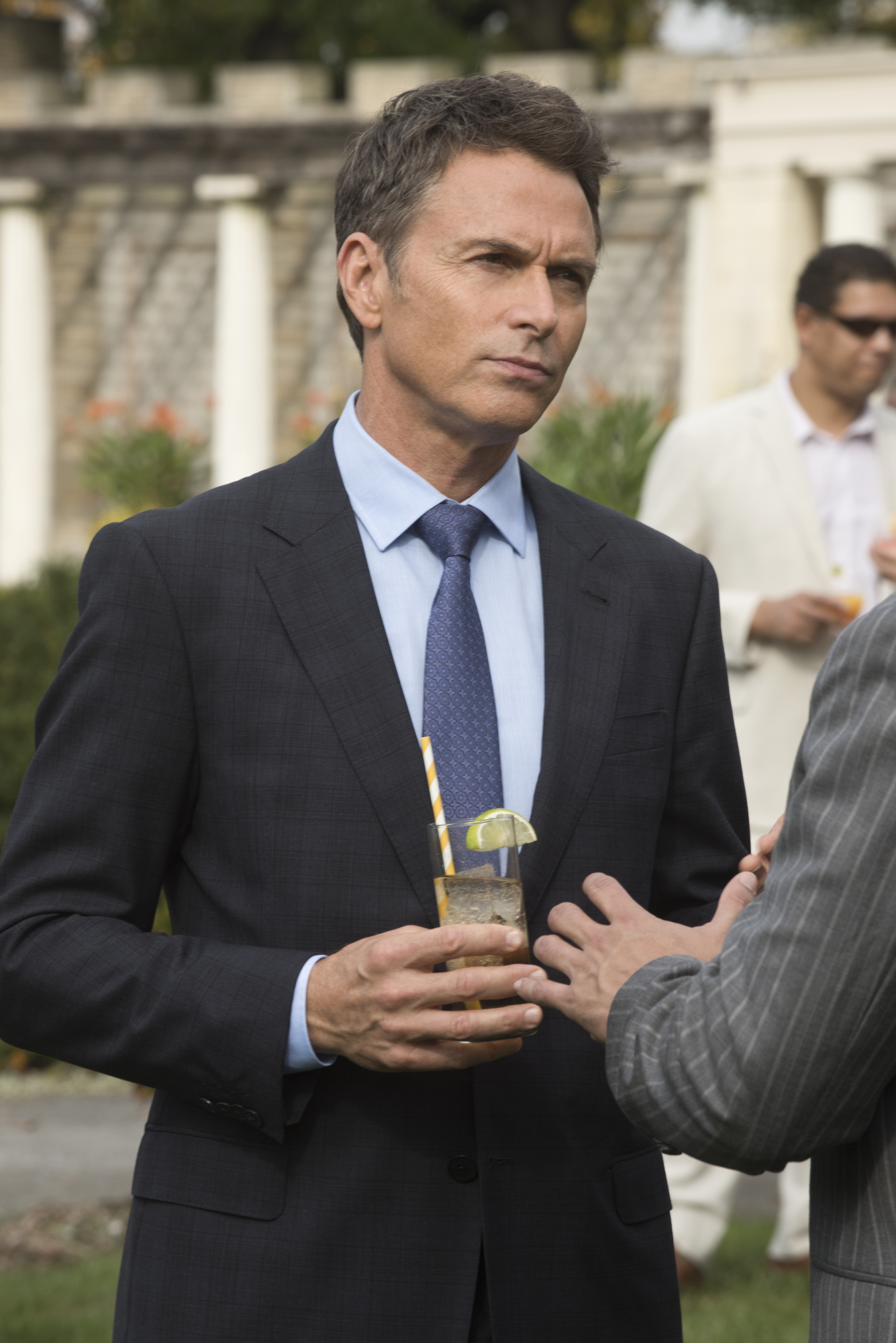 44. Tim Daly made his debut in Barry Levinson's