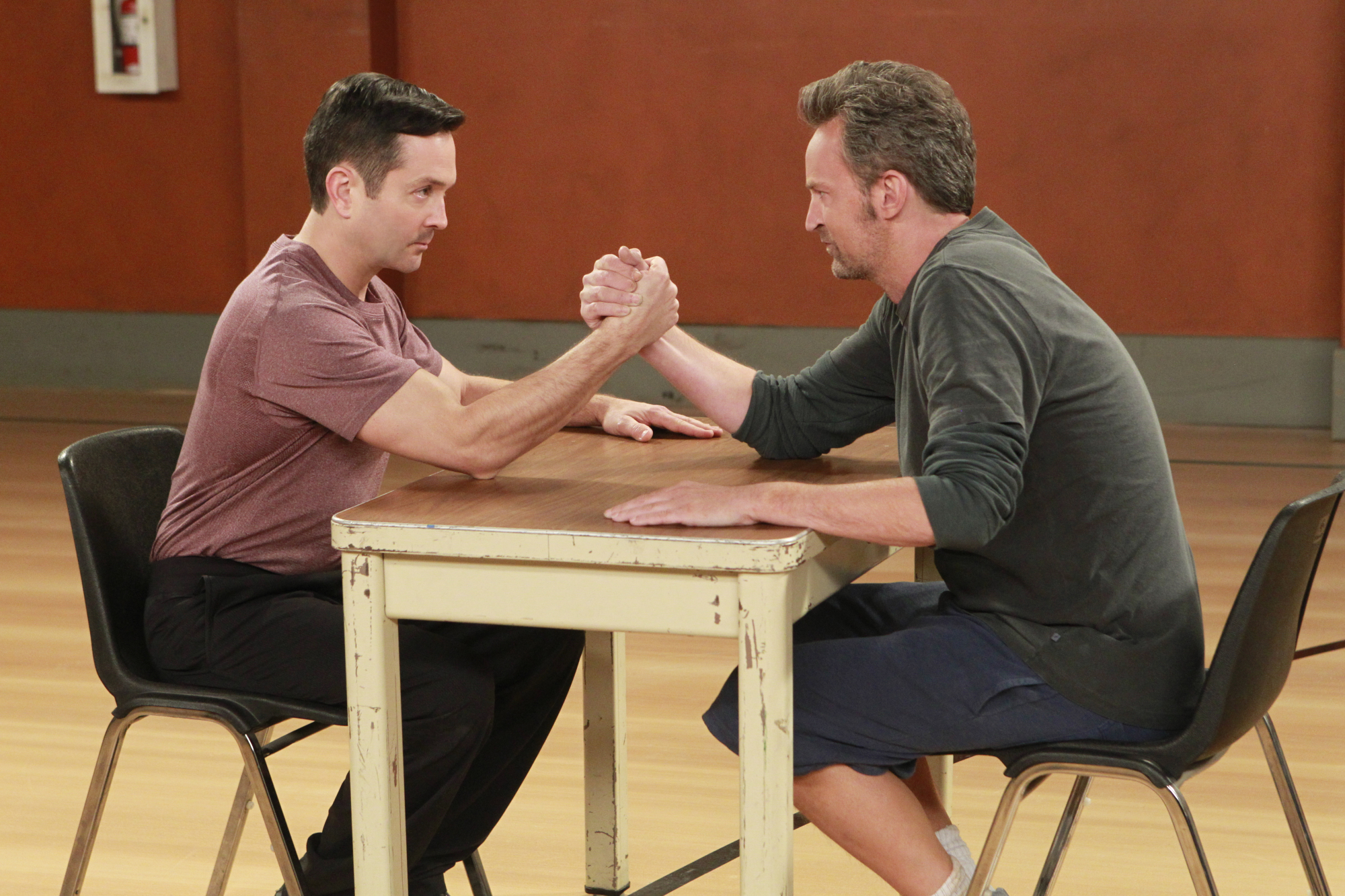 The ultimate arm wrestle