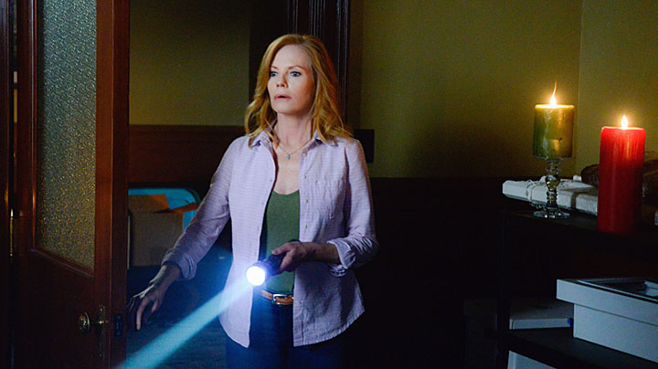 It's Marg Helgenberger, who plays Christine Price!