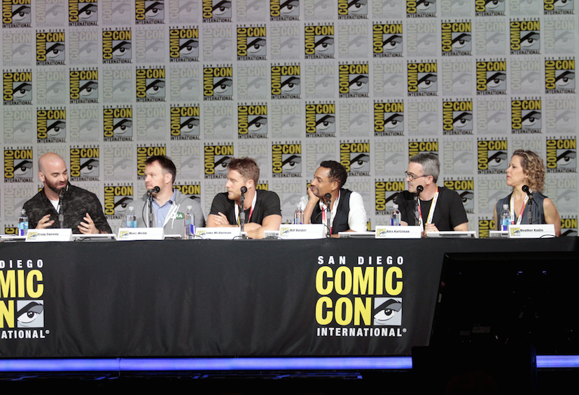 Executive Producer And Director Craig Sweeny, Director Marc Webb, Actors Jake McDorman And Hill Harper, And Executive Producers Alex Kurtzman And Heather Kadin
