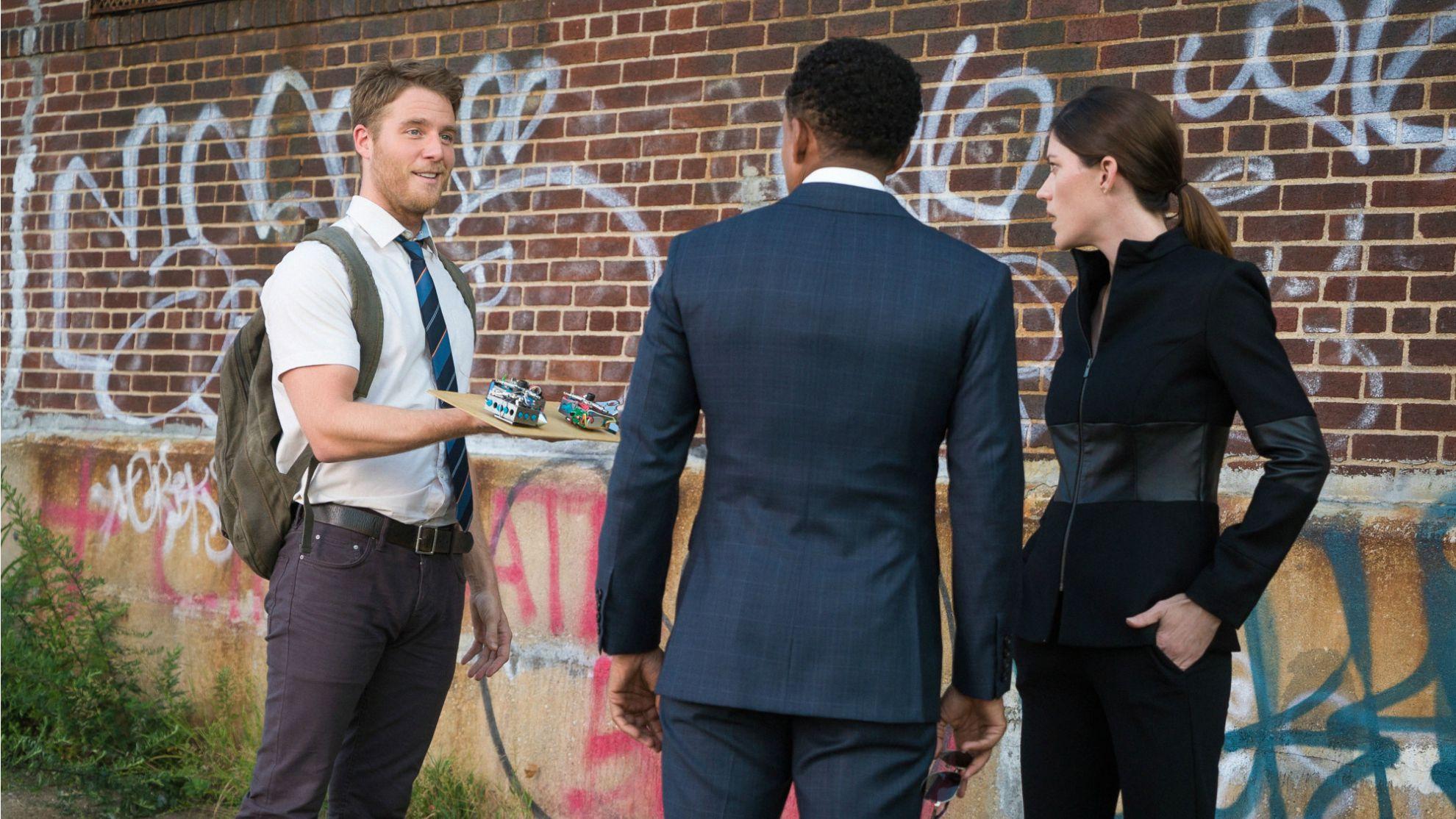 Jake McDorman as Brian Finch, Hill Harper as Agent Boyle, and Jennifer Carpenter as Agent Harris