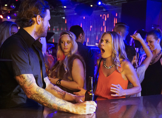 Allison is shocked by what happens at the bar