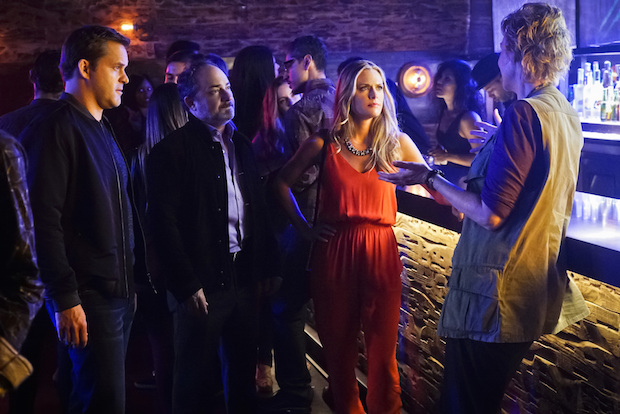 Brad and Marv get in the middle of Amy's plan to take Allison on the town