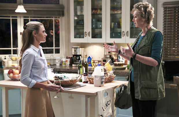Amy encourages Allison to take a stand against her father