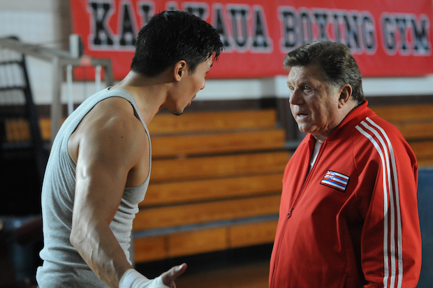 Lewis Tan as Luke Nakano and Larry Manetti as Nicky