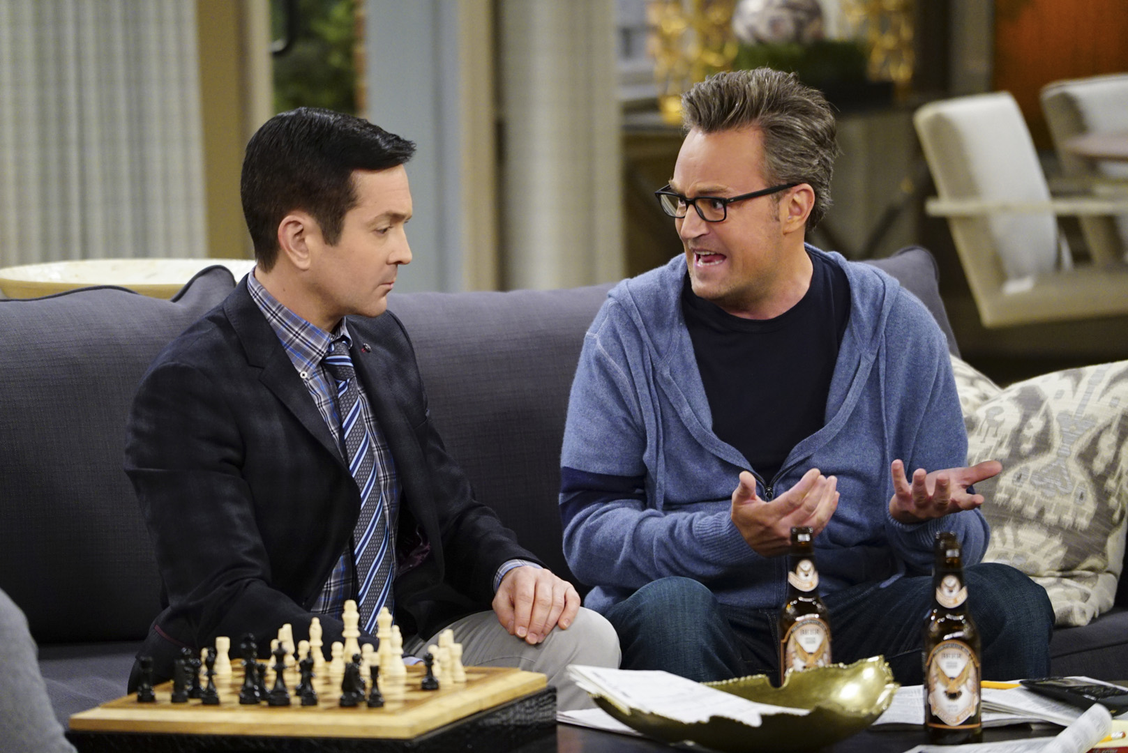 Oscar can't believe Felix was a nationally ranked chess player back in the day.