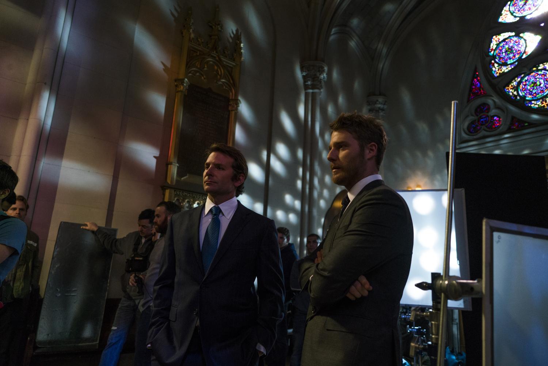 Bradley Cooper and Jake McDorman