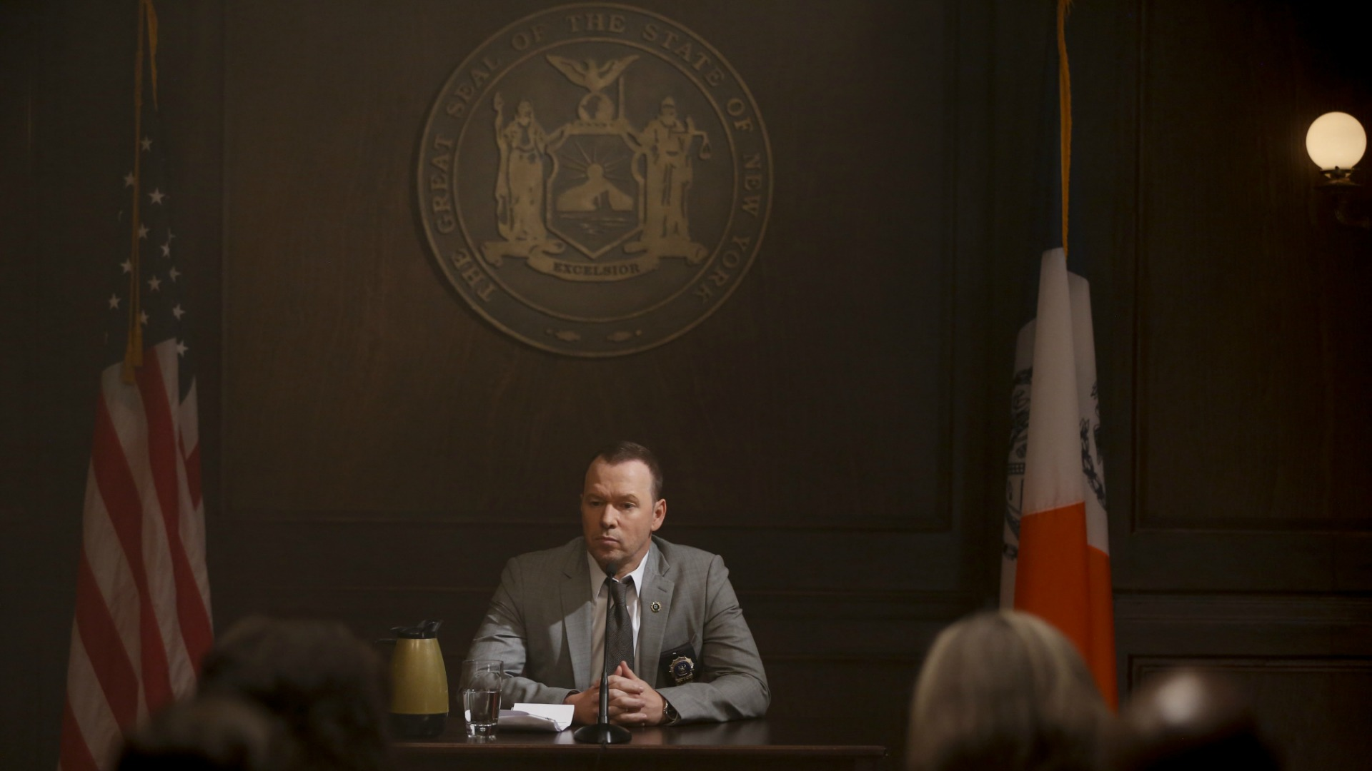 Danny awaits the grand jury's decision.
