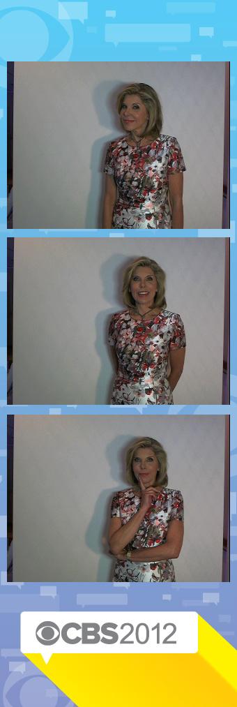 Christine Baranski at the TCAs