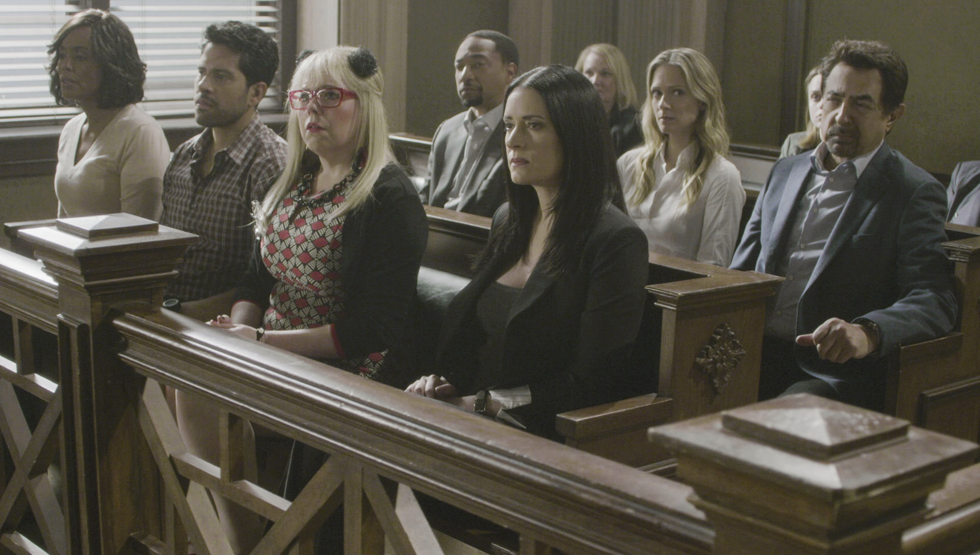 When the entire team supported Reid through every step in the justice system.