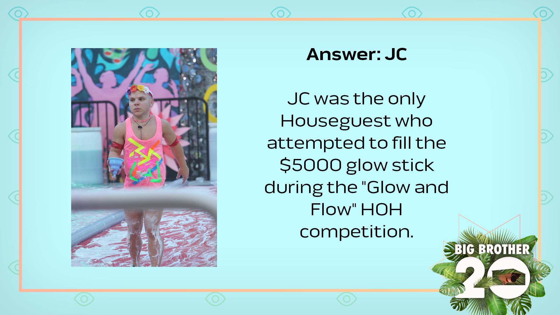 Answer: JC