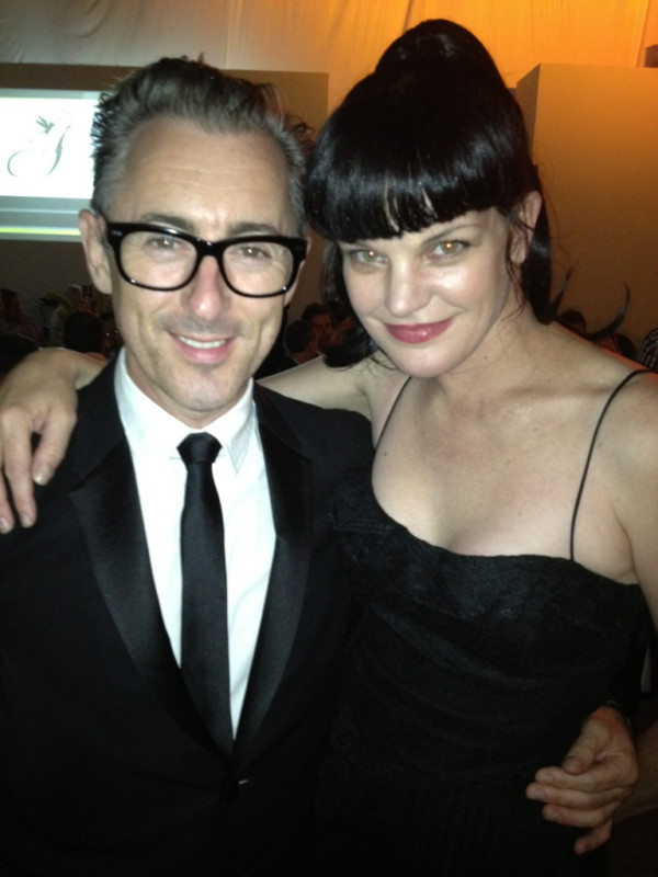 Pauley Perrette Tweets at the Angel Awards
