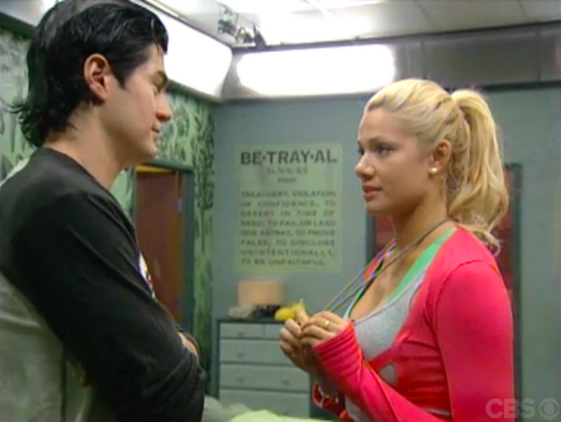 Big Brother 7: Janelle votes Will out