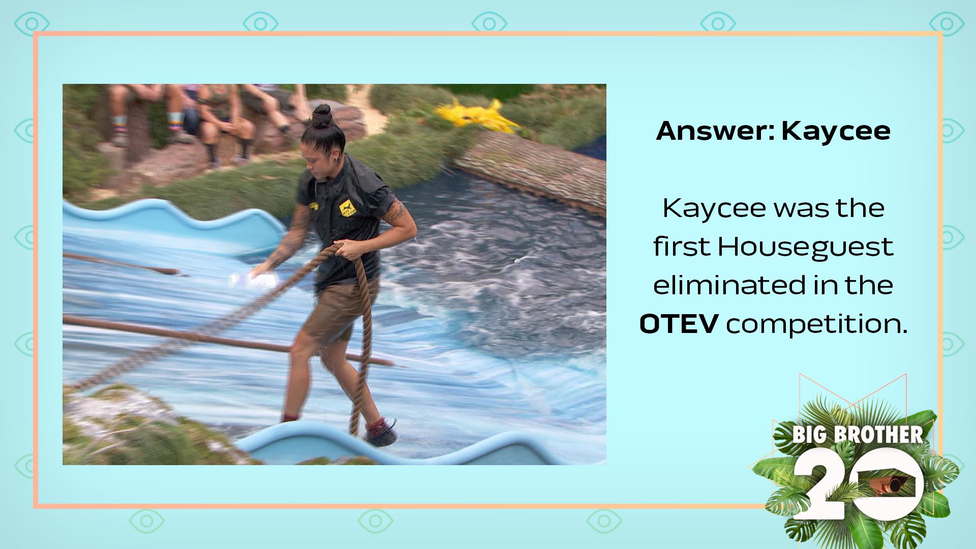 Answer: Kaycee
