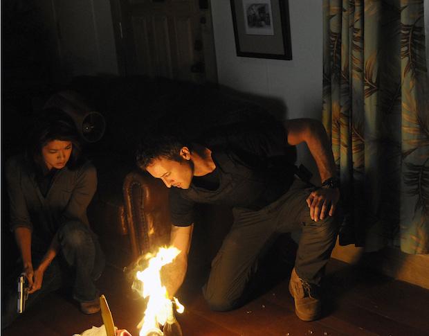 3.) He put out a bushfire