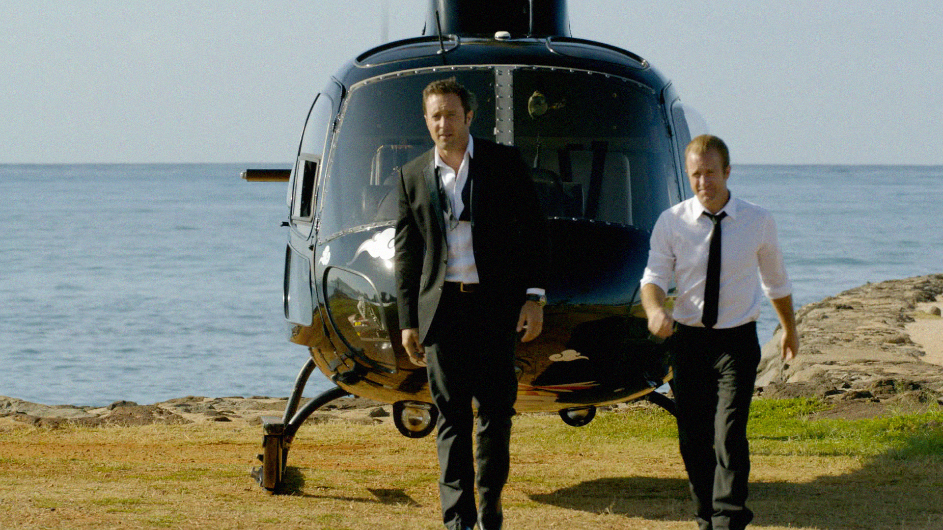 9. You've made nods to various movies. What movie would you like to adopt for a Hawaii Five-0 episode if you could?