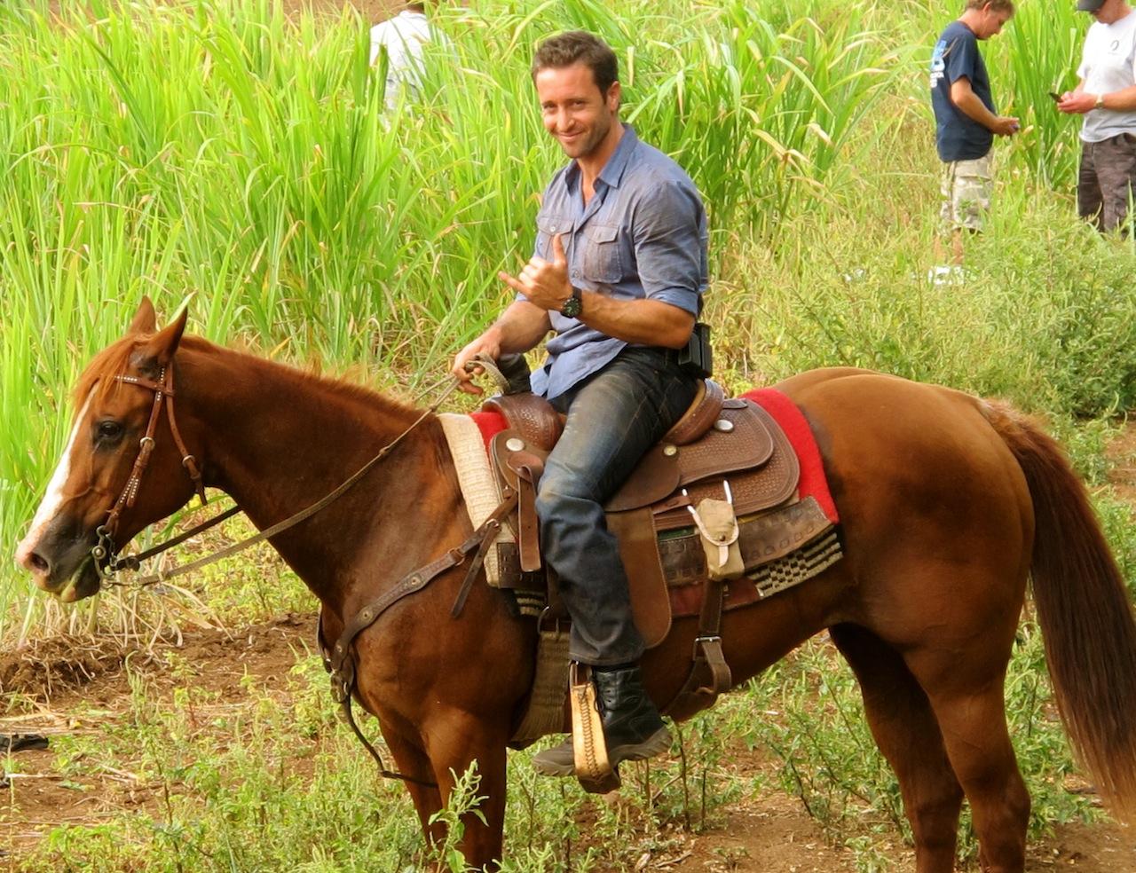 Alex on a Horse