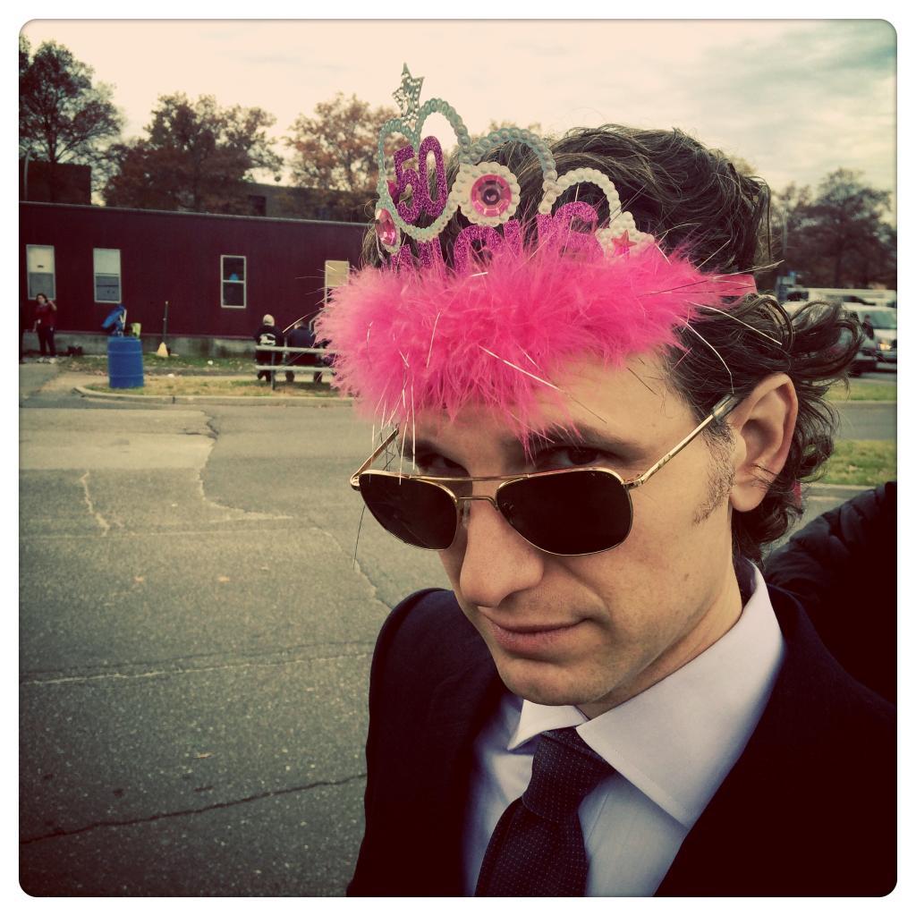 Sebastian Arcelus Birthday Crown