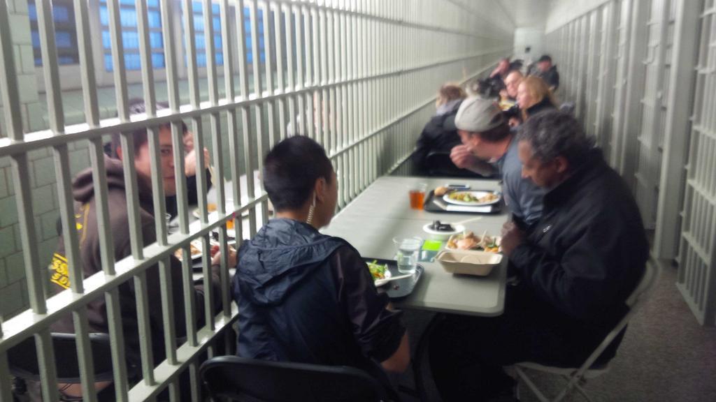 Prison Lunch Break