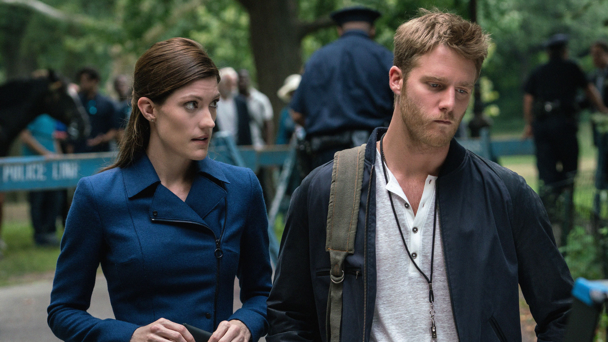 Jennifer Carpenter as Agent Rebecca Harris as Jake McDorman as Brian Finch