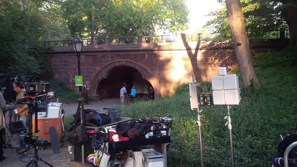 Shooting in Central Park
