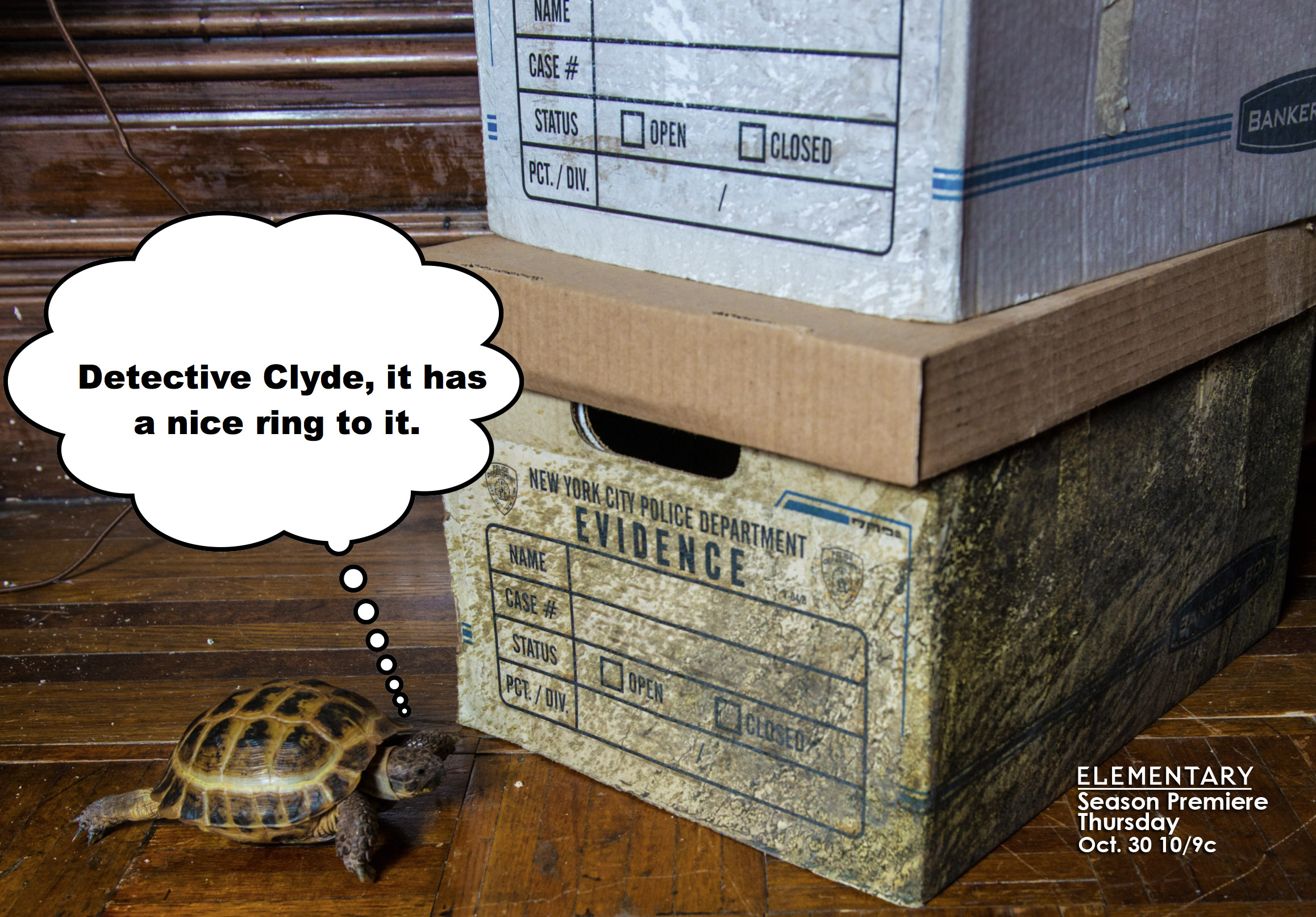 Clyde is more than just an alarm clock.