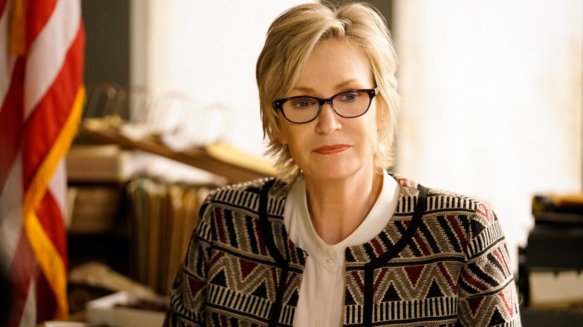 Jane Lynch as FBI investigator Madeline Starkey
