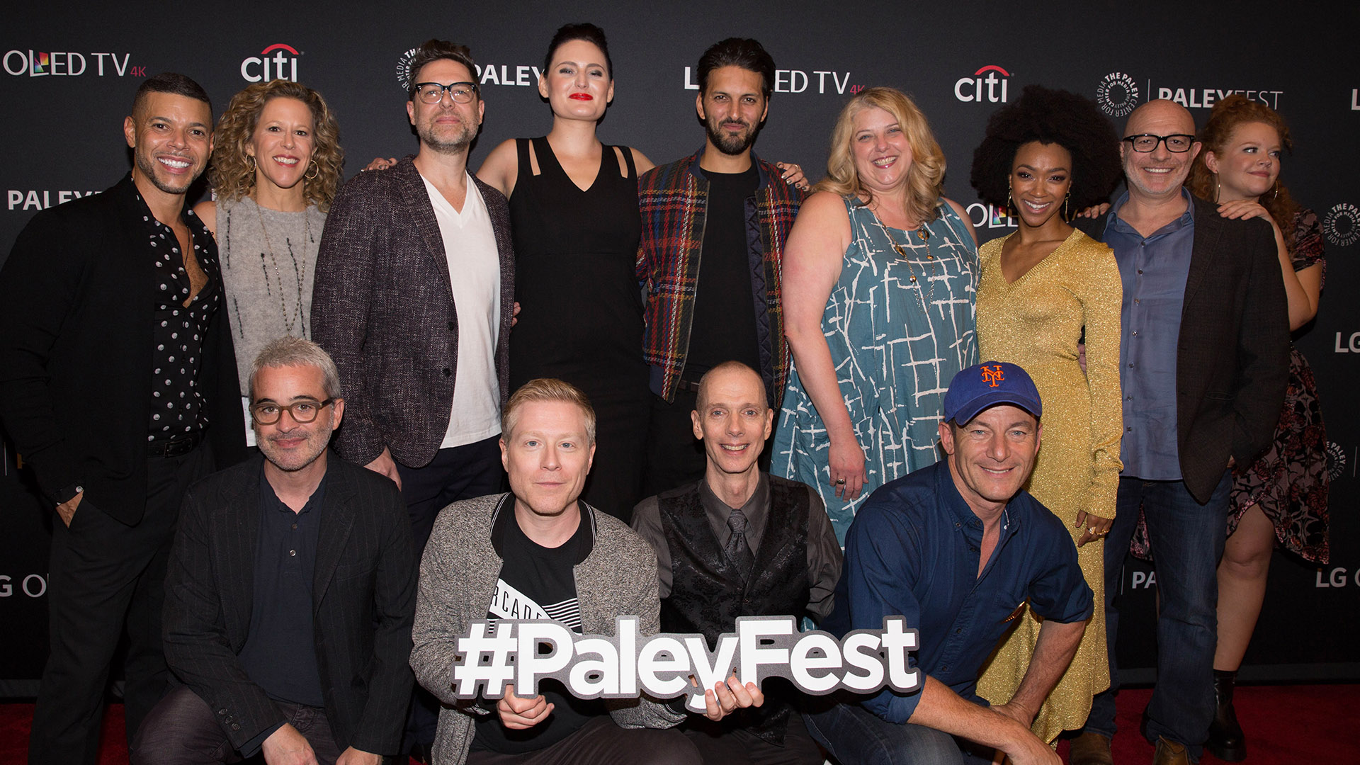 The cast and crew of Star Trek: Discovery