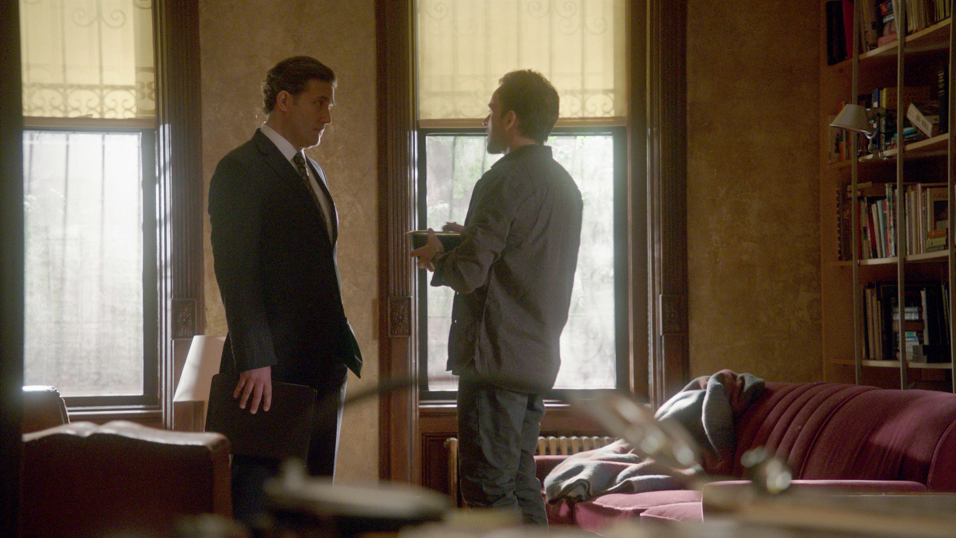 Jim and Sherlock