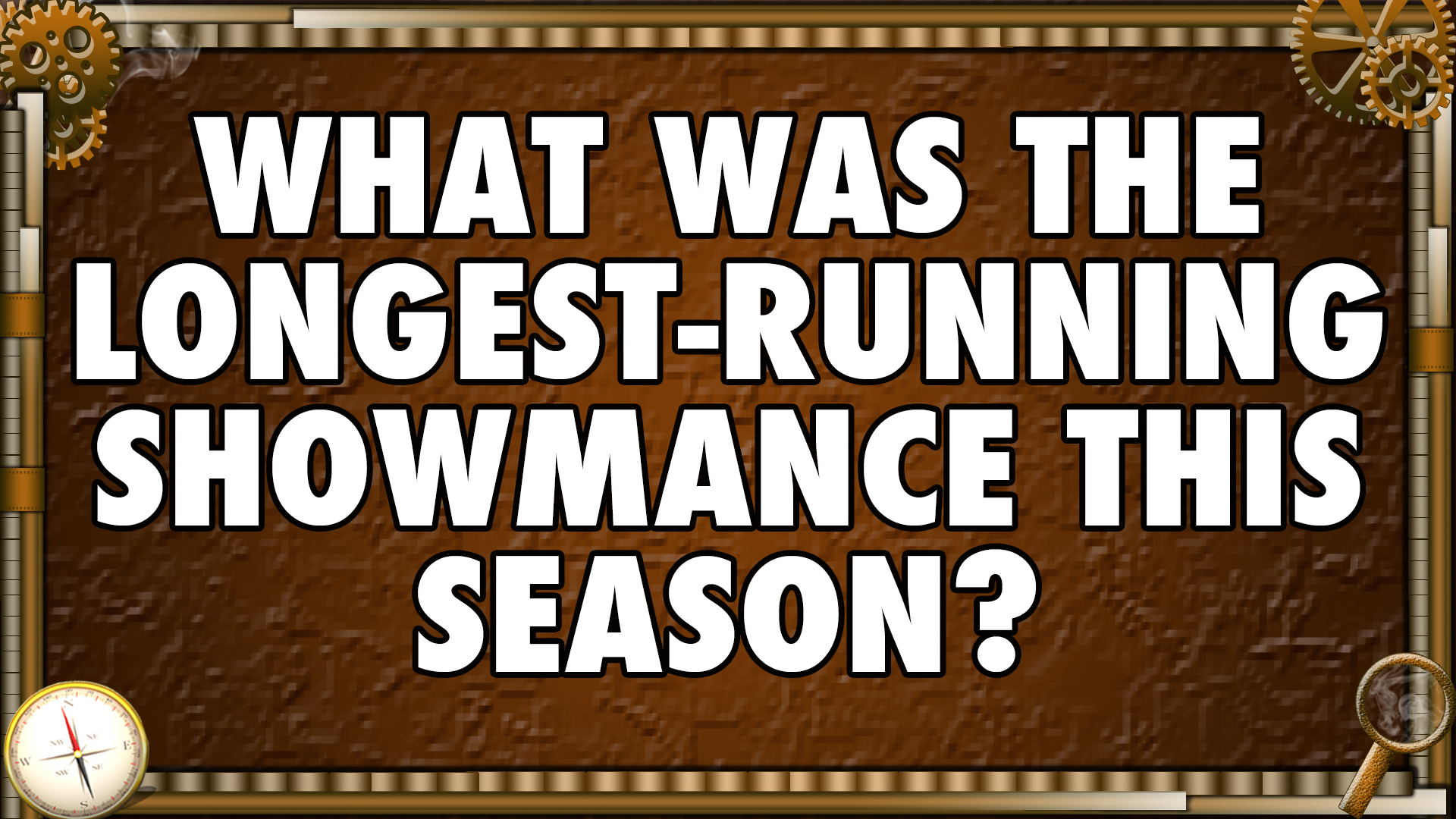 What was the longest-running showmance this season?