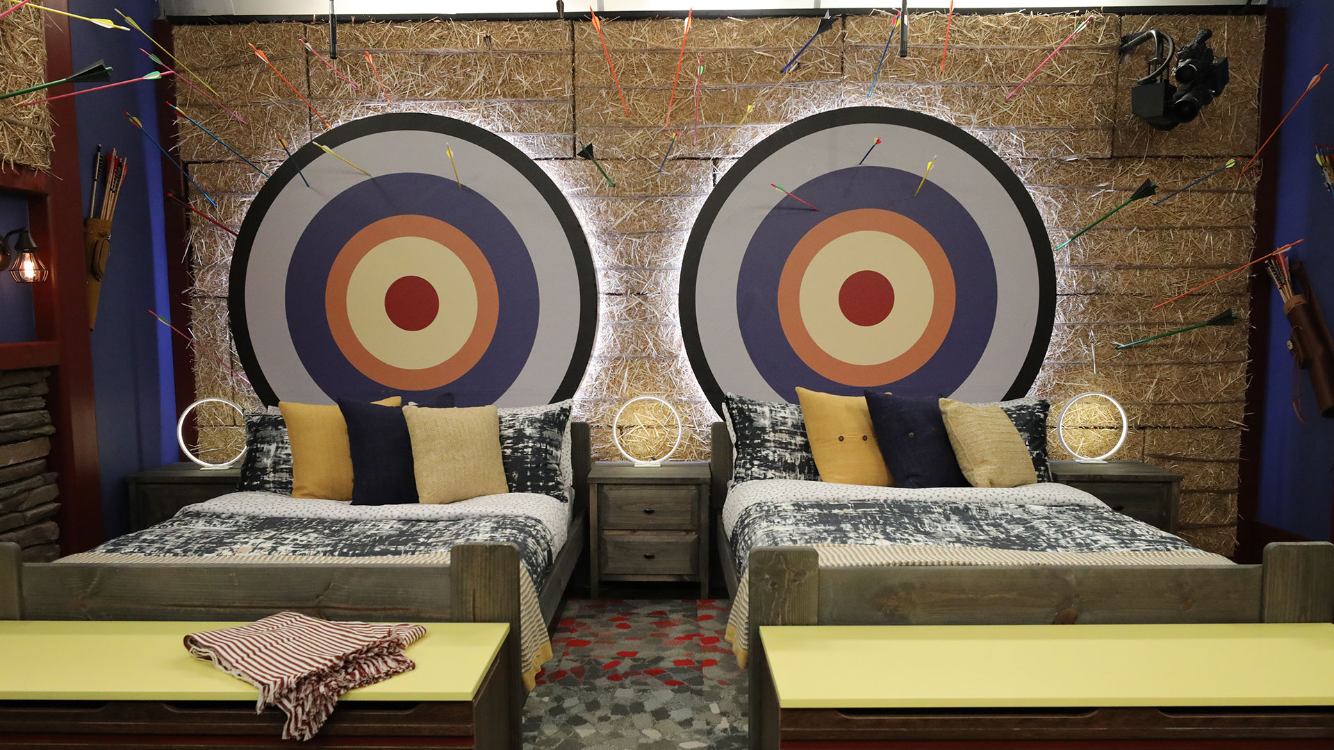 A bedroom for the HGs to pick their targets