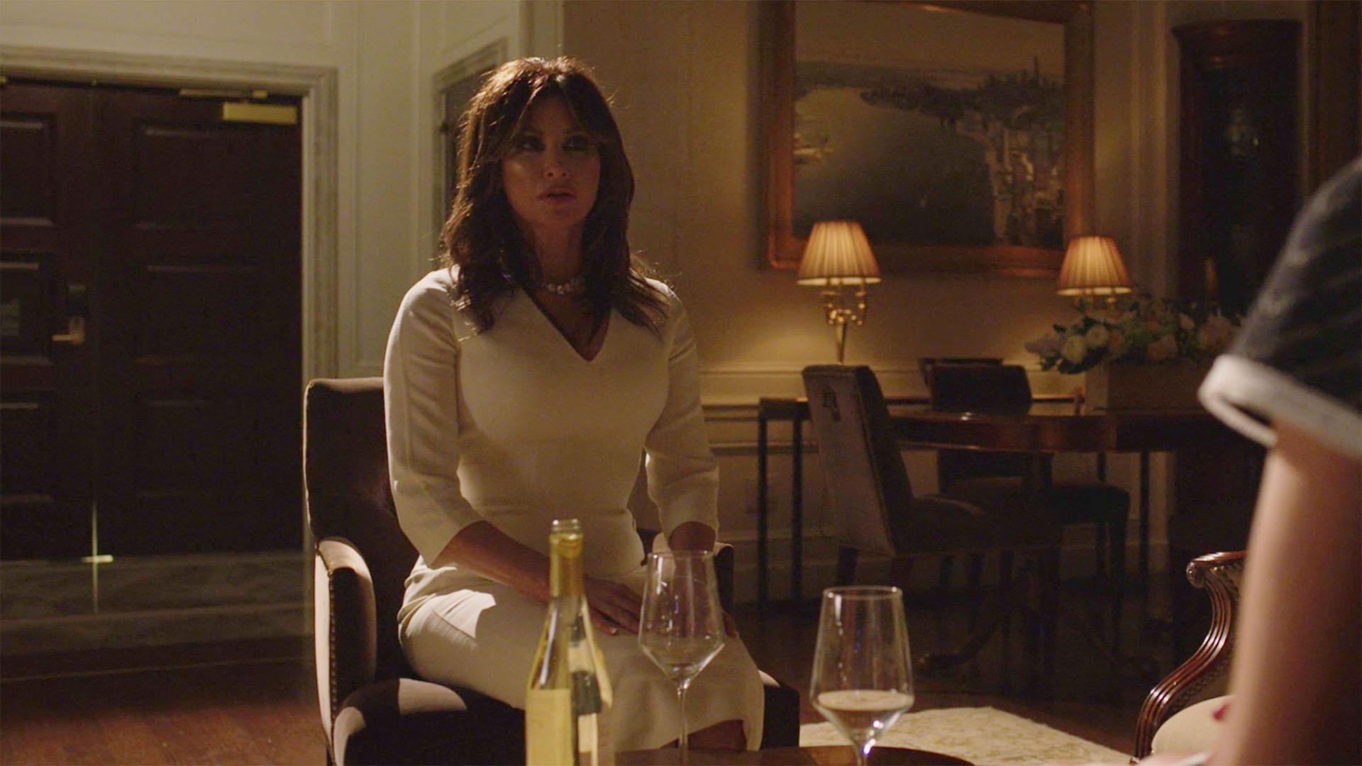 Gina Gershon as Melania Trump (Maybe)