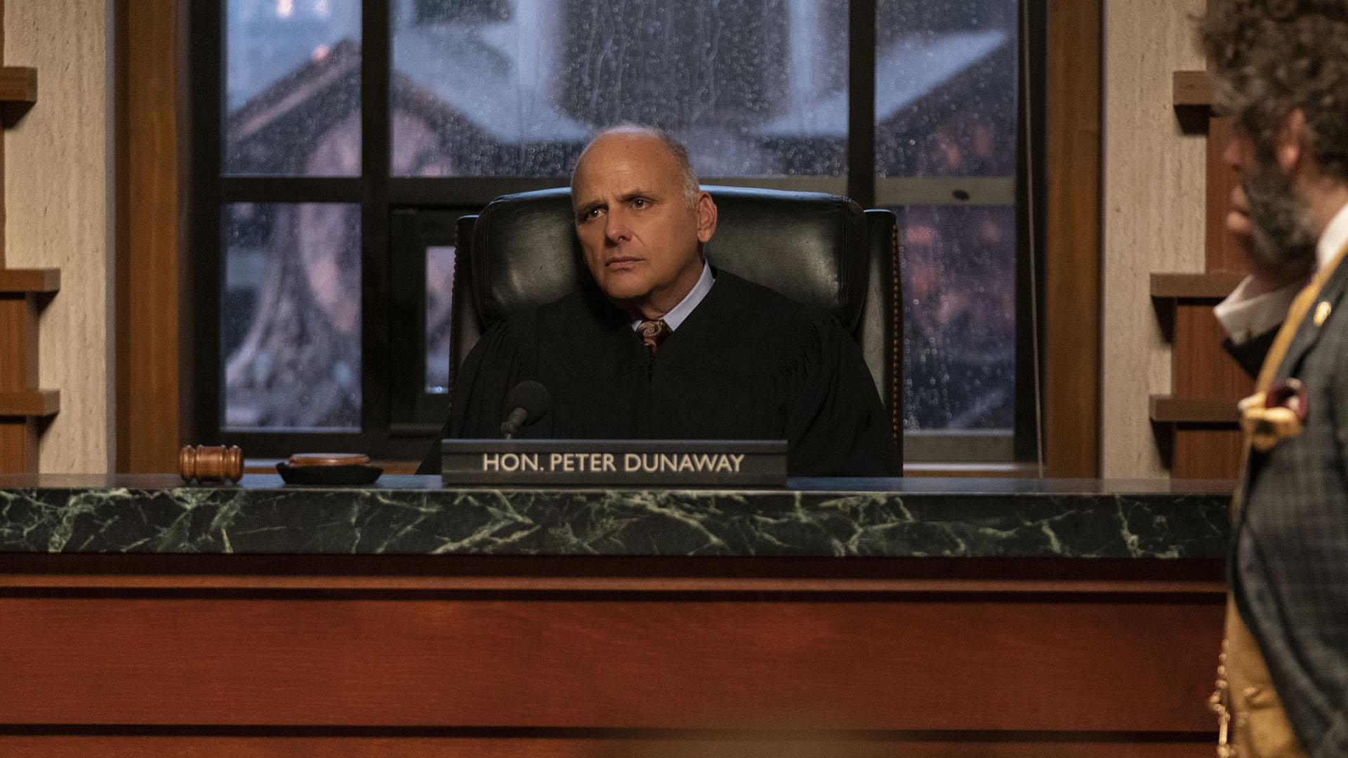 Kurt Fuller as Judge Peter Dunaway