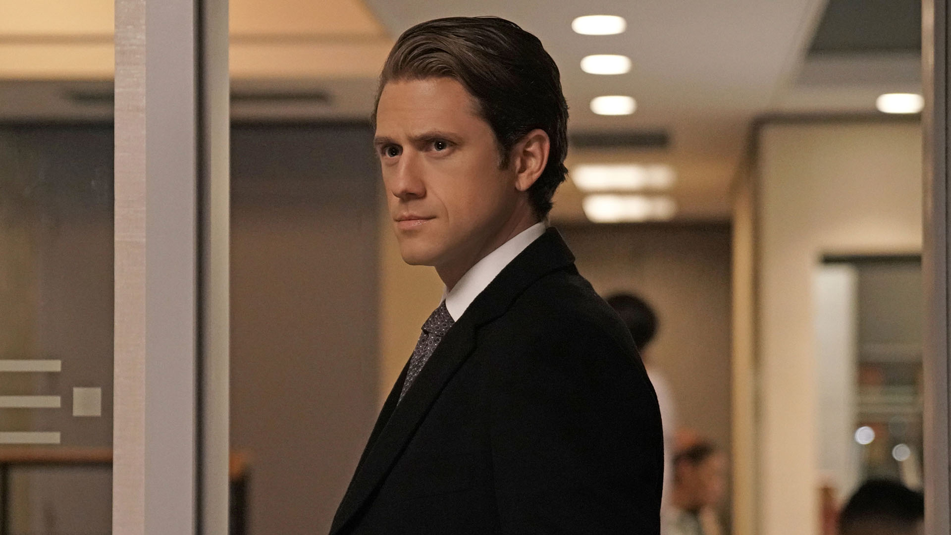 Aaron Tveit as Spencer Zschau